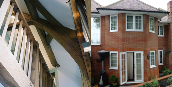 Masonry Construction vs Timber Frame