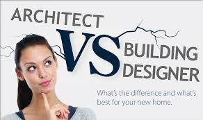 What's the difference between an architect and a building designer?
